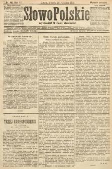 Słowo Polskie (wydanie poranne). 1907, nr48