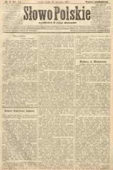 Słowo Polskie (wydanie popołudniowe). 1907, nr51
