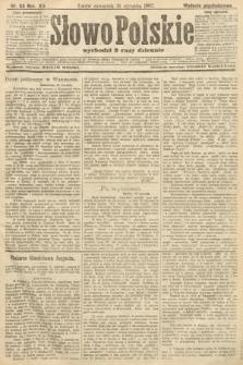 Słowo Polskie (wydanie popołudniowe). 1907, nr53