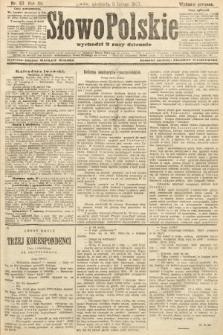 Słowo Polskie (wydanie poranne). 1907, nr57