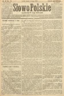 Słowo Polskie (wydanie popołudniowe). 1907, nr62
