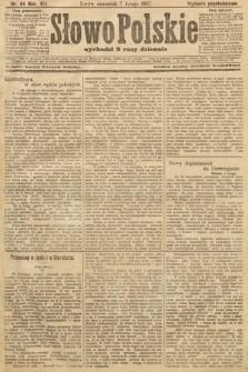 Słowo Polskie (wydanie popołudniowe). 1907, nr64