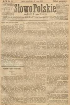 Słowo Polskie (wydanie popołudniowe). 1907, nr70