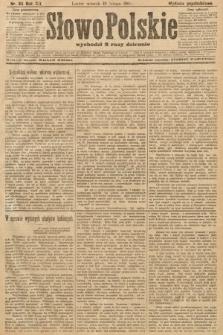 Słowo Polskie (wydanie popołudniowe). 1907, nr84