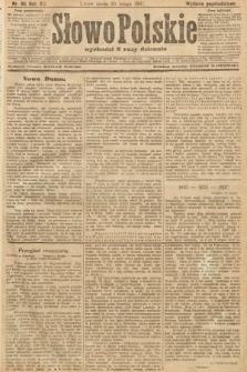 Słowo Polskie (wydanie popołudniowe). 1907, nr86