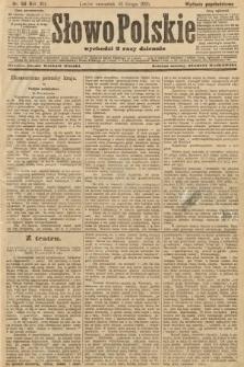 Słowo Polskie (wydanie popołudniowe). 1907, nr88