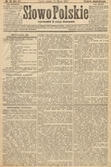 Słowo Polskie (wydanie popołudniowe). 1907, nr92