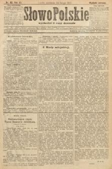 Słowo Polskie (wydanie poranne). 1907, nr93