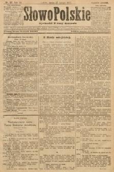 Słowo Polskie (wydanie poranne). 1907, nr97