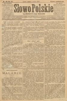 Słowo Polskie (wydanie popołudniowe). 1907, nr102