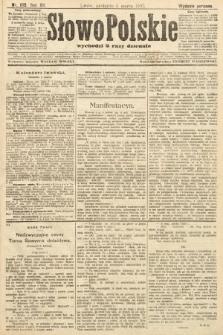 Słowo Polskie (wydanie poranne). 1907, nr105