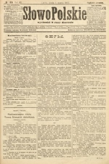 Słowo Polskie (wydanie poranne). 1907, nr109
