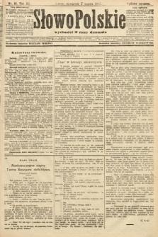 Słowo Polskie (wydanie poranne). 1907, nr111
