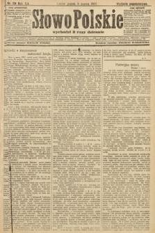 Słowo Polskie (wydanie popołudniowe). 1907, nr114