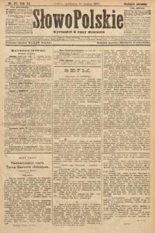 Słowo Polskie (wydanie poranne). 1907, nr117