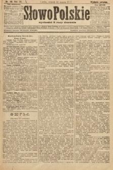 Słowo Polskie (wydanie poranne). 1907, nr119