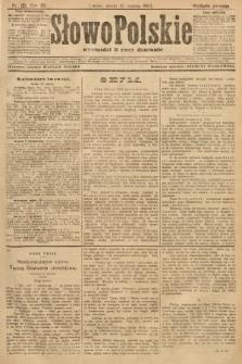 Słowo Polskie (wydanie poranne). 1907, nr121