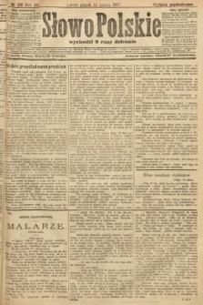 Słowo Polskie (wydanie popołudniowe). 1907, nr126