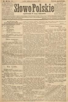 Słowo Polskie (wydanie popołudniowe). 1907, nr128