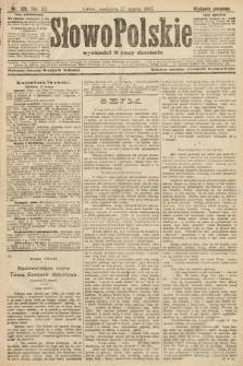 Słowo Polskie (wydanie poranne). 1907, nr129