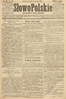 Słowo Polskie (wydanie poranne). 1907, nr135