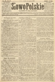 Słowo Polskie (wydanie poranne). 1907, nr142