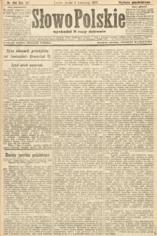 Słowo Polskie (wydanie popołudniowe). 1907, nr154