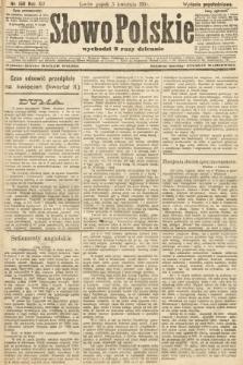 Słowo Polskie (wydanie popołudniowe). 1907, nr158