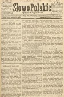 Słowo Polskie (wydanie popołudniowe). 1907, nr162