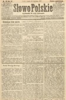 Słowo Polskie (wydanie popołudniowe). 1907, nr176