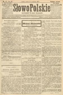 Słowo Polskie (wydanie poranne). 1907, nr177