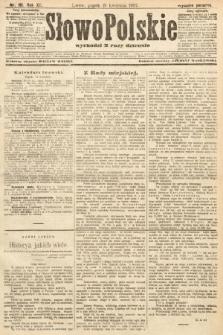 Słowo Polskie (wydanie poranne). 1907, nr181