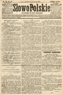 Słowo Polskie (wydanie poranne). 1907, nr185