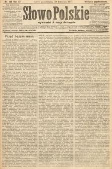 Słowo Polskie (wydanie popołudniowe). 1907, nr198
