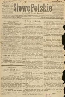 Słowo Polskie (wydanie poranne). 1907, nr201