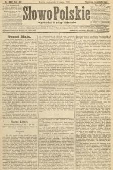 Słowo Polskie (wydanie popołudniowe). 1907, nr202