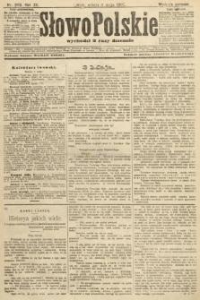 Słowo Polskie (wydanie poranne). 1907, nr205