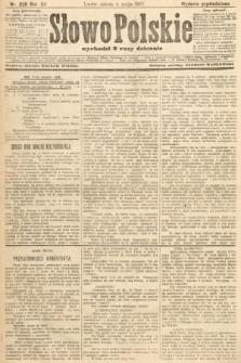 Słowo Polskie (wydanie popołudniowe). 1907, nr206