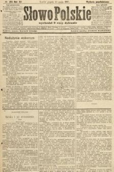Słowo Polskie (wydanie popołudniowe). 1907, nr215