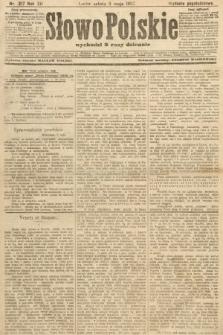 Słowo Polskie (wydanie popołudniowe). 1907, nr217