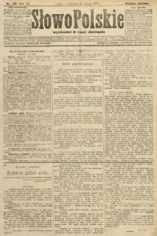 Słowo Polskie (wydanie poranne). 1907, nr218