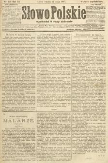 Słowo Polskie (wydanie popołudniowe). 1907, nr221