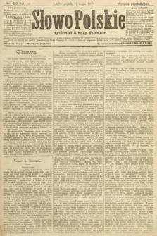 Słowo Polskie (wydanie popołudniowe). 1907, nr227