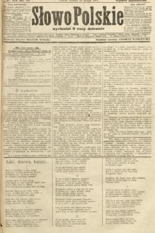 Słowo Polskie (wydanie popołudniowe). 1907, nr229