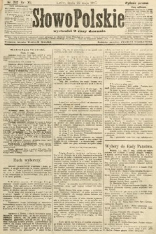 Słowo Polskie (wydanie poranne). 1907, nr232
