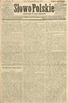 Słowo Polskie (wydanie popołudniowe). 1907, nr235