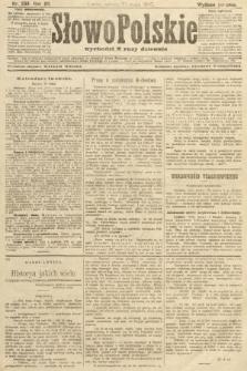 Słowo Polskie (wydanie poranne). 1907, nr238