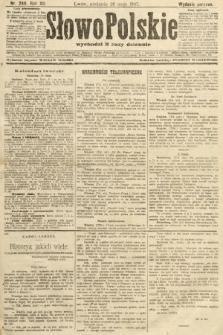 Słowo Polskie (wydanie poranne). 1907, nr240