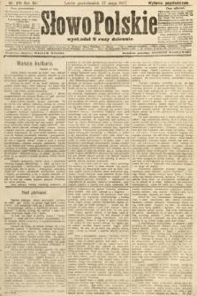 Słowo Polskie (wydanie popołudniowe). 1907, nr241