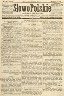 Słowo Polskie (wydanie poranne). 1907, nr242